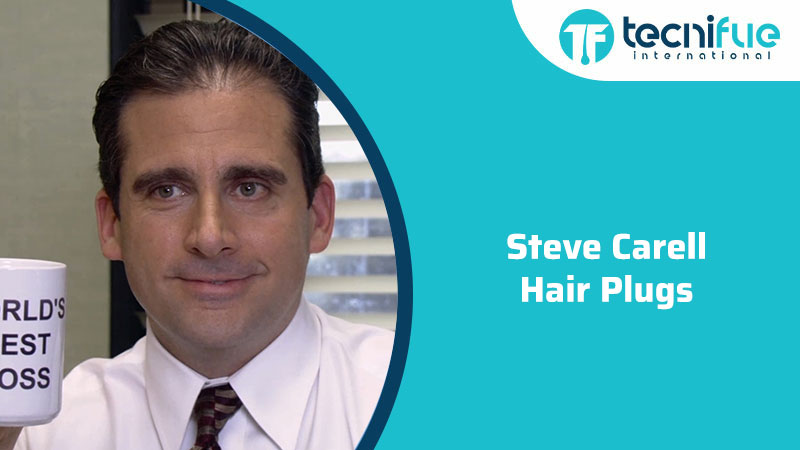 Steve Carell Hair Plugs, Steve Carell Hair Plugs